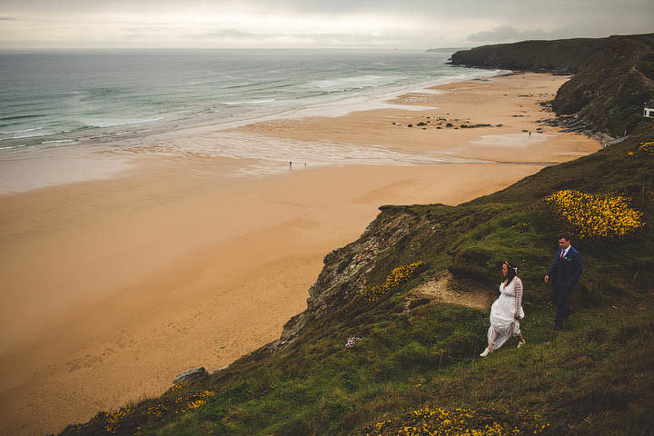 40 Cornish Wedding with a Beautiful Beach Backdrop, by S6 Photography