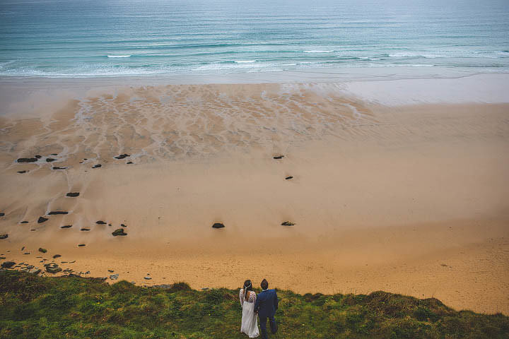 41 Cornish Wedding with a Beautiful Beach Backdrop, by S6 Photography