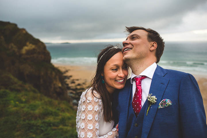 42 Cornish Wedding with a Beautiful Beach Backdrop, by S6 Photography