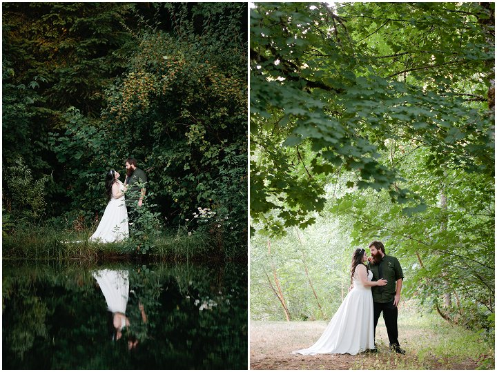 42 Hand Fasting Woodland Wedding, by Kel Ward Photography