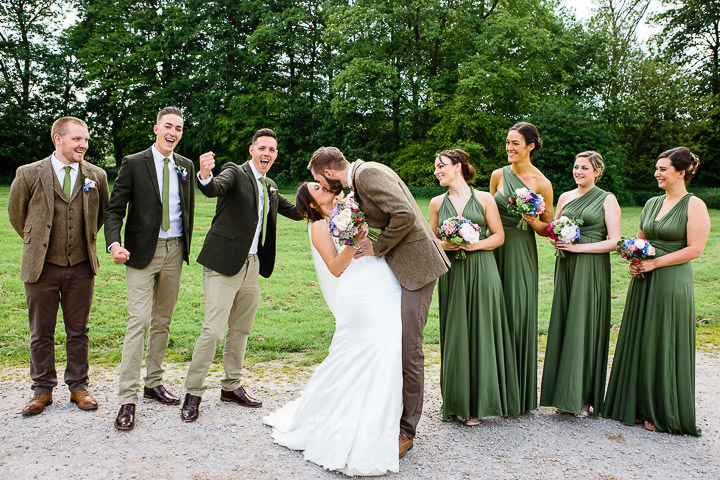 45 Georgina and Simon's Woodland Themed Wedding By Kevin Belson Photography