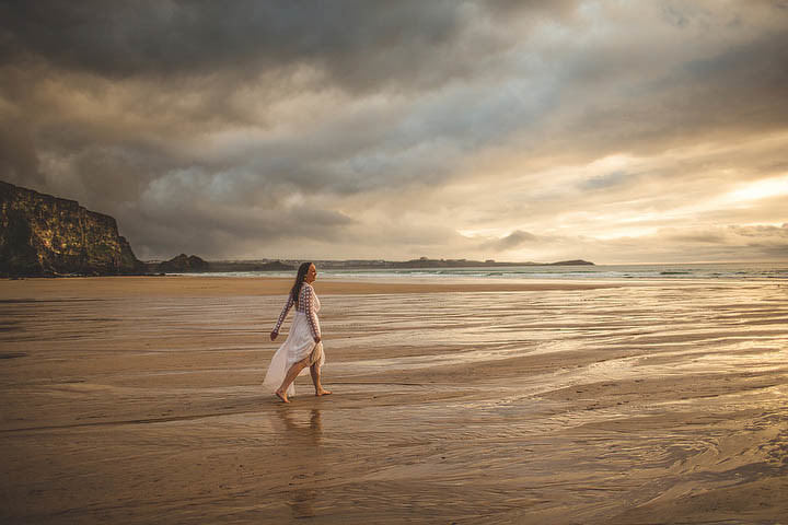 47 Cornish Wedding with a Beautiful Beach Backdrop, by S6 Photography