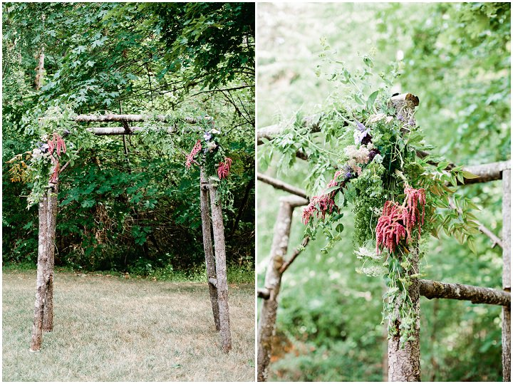 9 Hand Fasting Woodland Wedding, by Kel Ward Photography