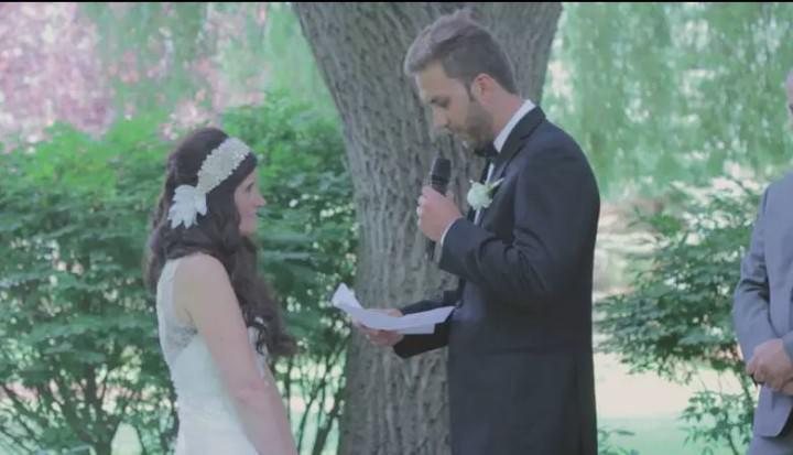 Film Club: Michelle and John's Boho Inspired Rustic Wedding