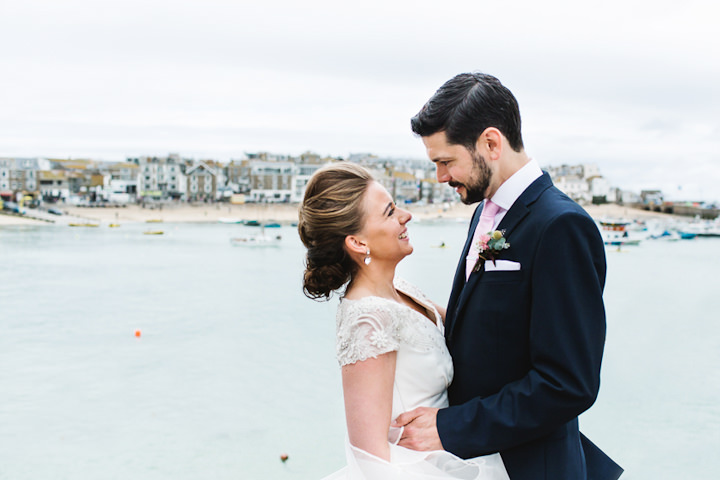 1 Stylish Cornish Wedding By Debs Ivelja
