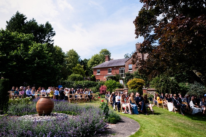 15 Back Garden Tipi Wedding By Babb Photo