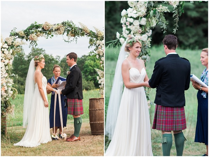 15 Outdoor Wedding, by Leah Fisher Photography