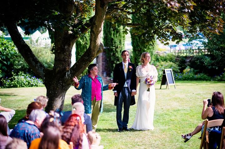 19 Back Garden Tipi Wedding By Babb Photo