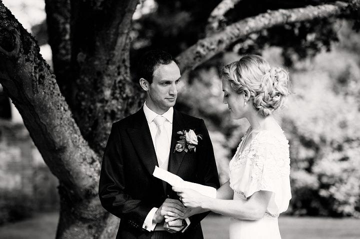 20 Back Garden Tipi Wedding By Babb Photo