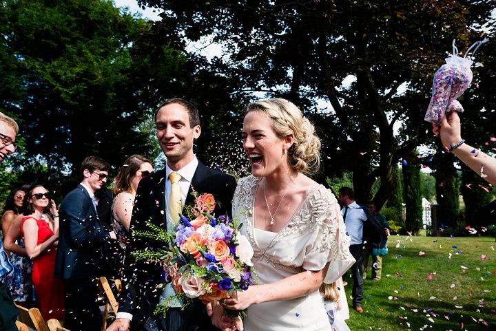 22 Back Garden Tipi Wedding By Babb Photo