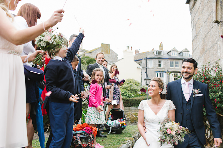24 Stylish Cornish Wedding By Debs Ivelja