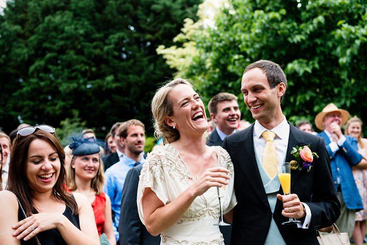 25 Back Garden Tipi Wedding By Babb Photo
