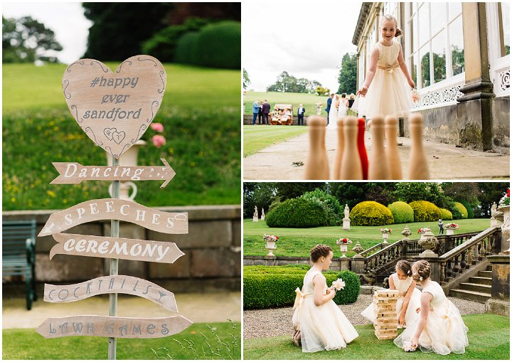 Gemma + Terry's awesome wedding at Broughton Hall near Skipton in North Yorkshire.