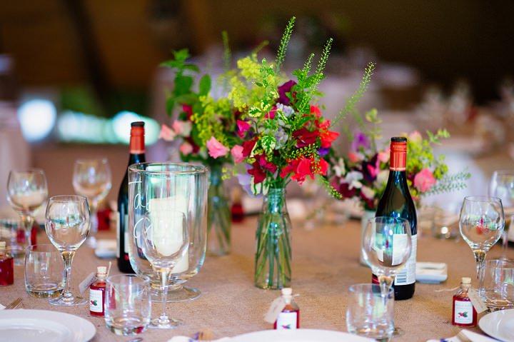 28 Back Garden Tipi Wedding By Babb Photo
