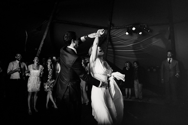 38 Back Garden Tipi Wedding By Babb Photo