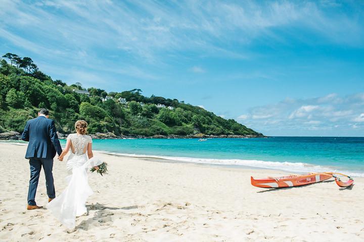 4 Stylish Cornish Wedding By Debs Ivelja
