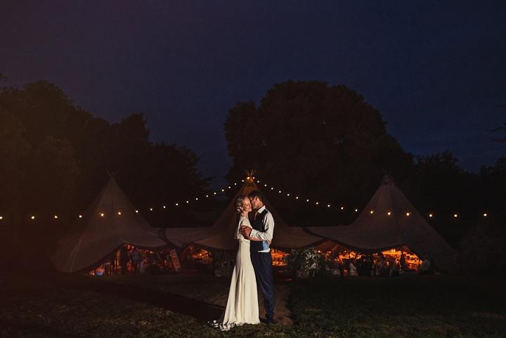 41 Back Garden Tipi Wedding By Babb Photo
