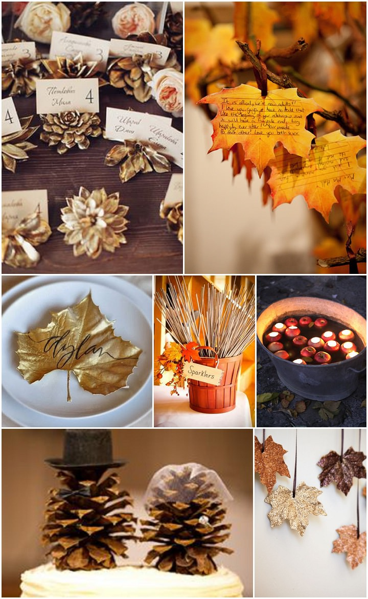 Ideas And Inspiration For Your Autumn Wedding