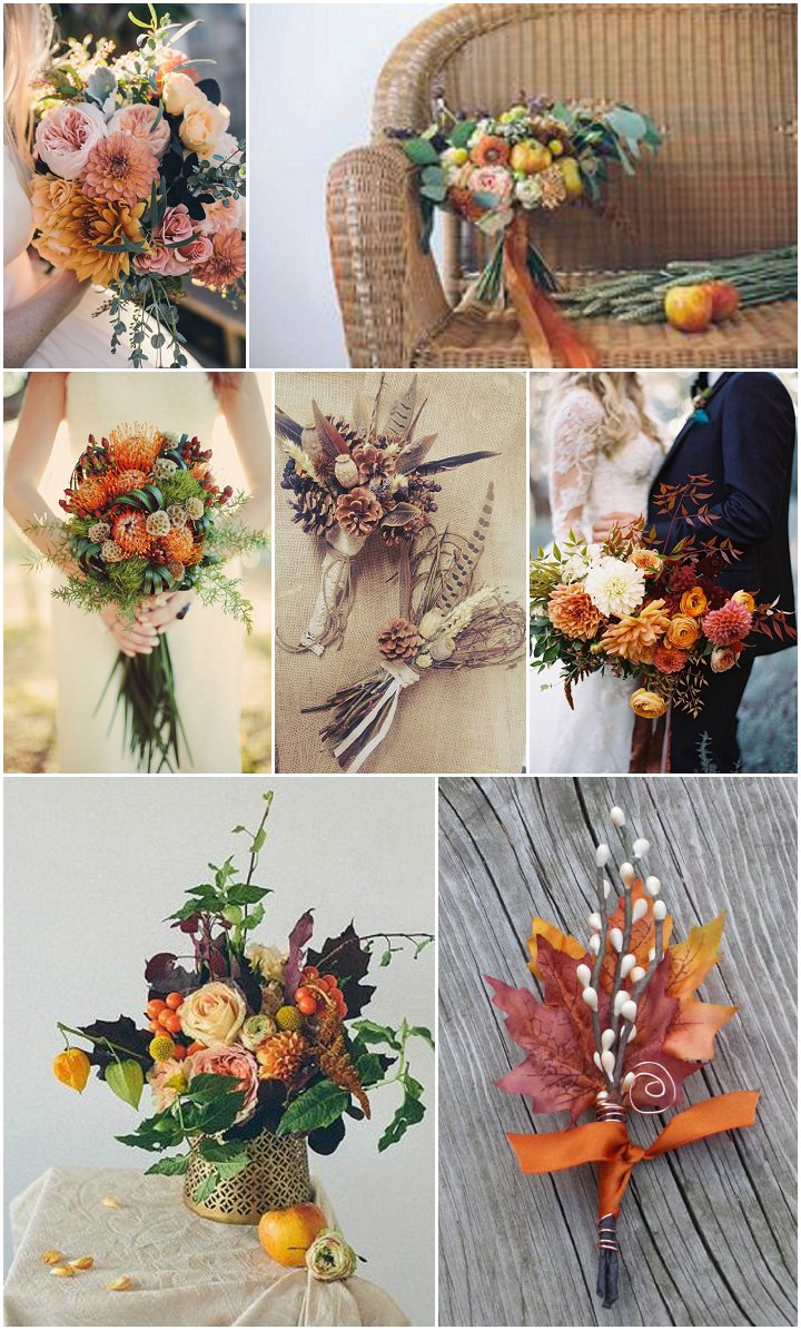 Ideas and Inspiration for your Autumn Wedding - flowers