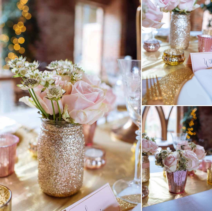 Winter Wedding Inspiration: Let It Glitter & Glitter
