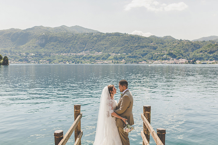 Jennifer and Steven's Romantic and Rustic Italian Wedding By Sam and Louise