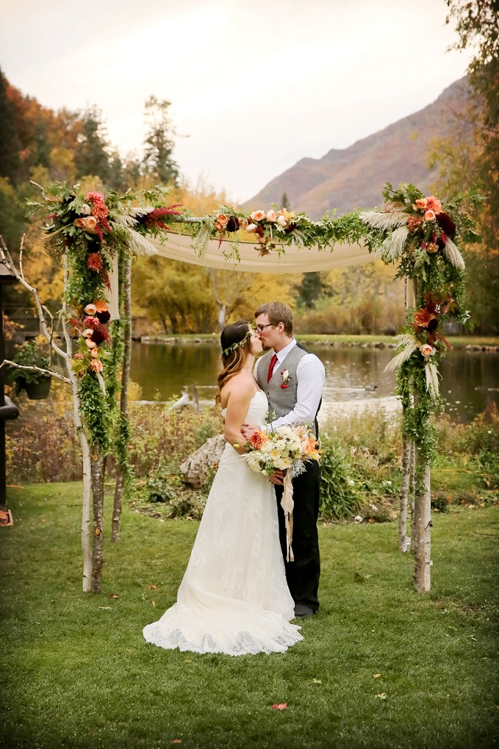 Shaun and Weston's Rustic Autumn Utah Wedding By Pepper Nix Photography