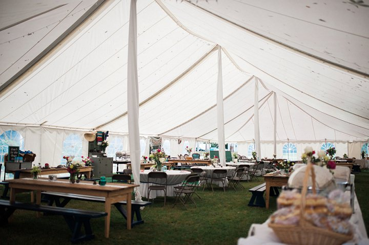 North Carolina Marquee Wedding By Heather and Jared Photography