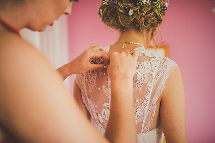 Handmade Wedding bride preps at The Thatched Cottage in Derry by Paula Gillespie
