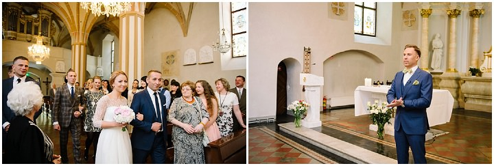 Modern Lithuanian groom sees bride Wedding By Diana Zak Photography