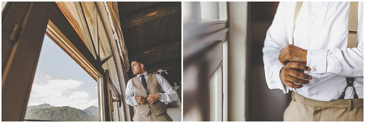 Jennifer and Steven's Romantic and Rustic Italian groom Wedding By Sam and Louise