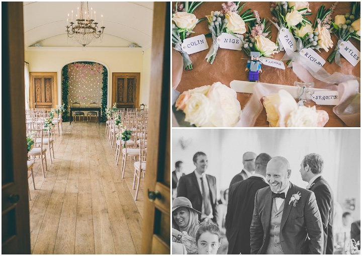 Alrewas Hayes Wedding ceremony room in Staffordshire by Neil Jackson Photographic