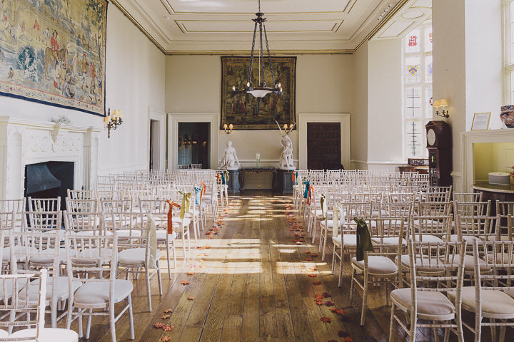 Autumnal Elmore Court wedding setting Gloucestershire Wedding By Scuffins Photography