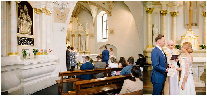 Modern Lithuanian exchange of vows Wedding By Diana Zak Photography
