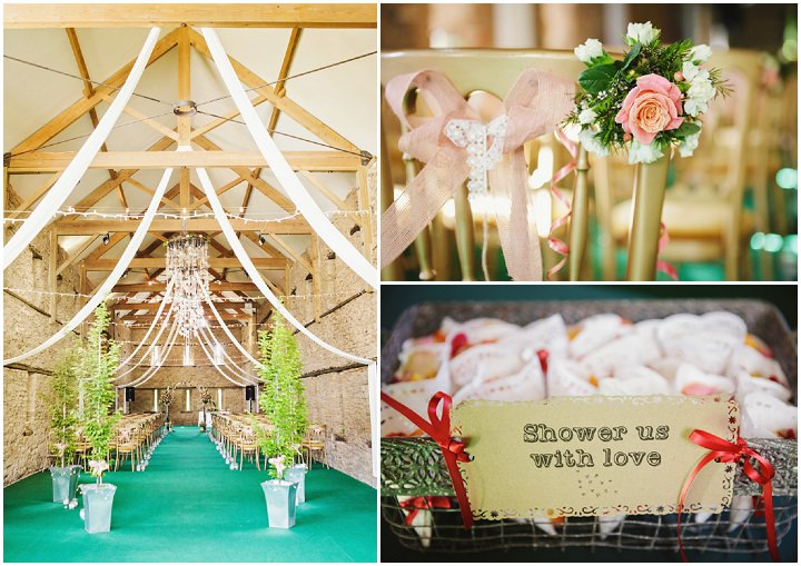 Barn Wedding details in Hereford By Gemma William's Photography
