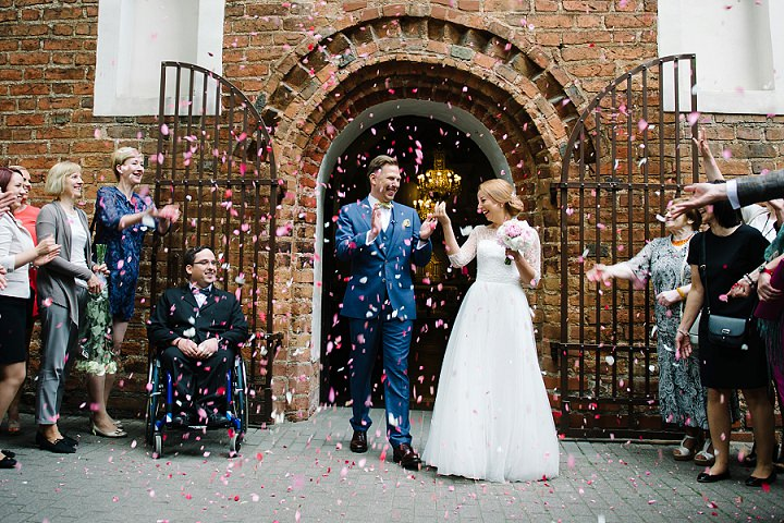 Modern Lithuanian confetti Wedding By Diana Zak Photography