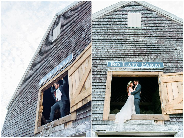 Maine Farm Wedding By Maine Tinker Photography