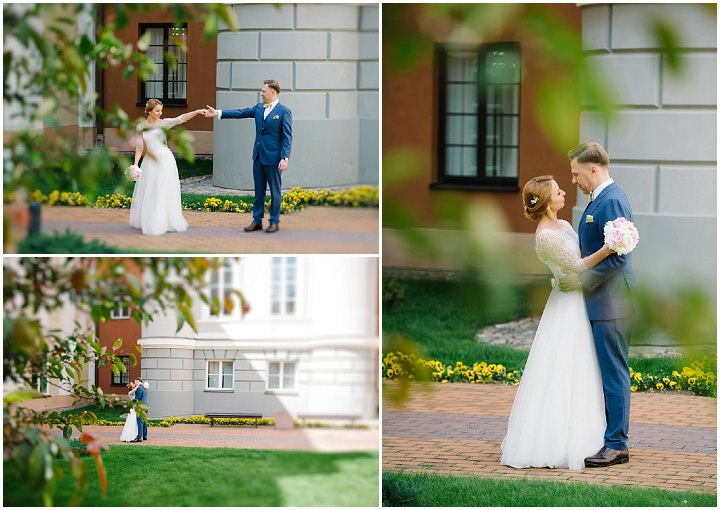 Modern Lithuanian bride and groom portraits Wedding By Diana Zak Photography