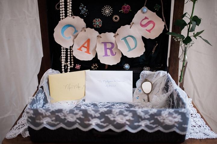 North Carolina Card Box Wedding By Heather and Jared Photography
