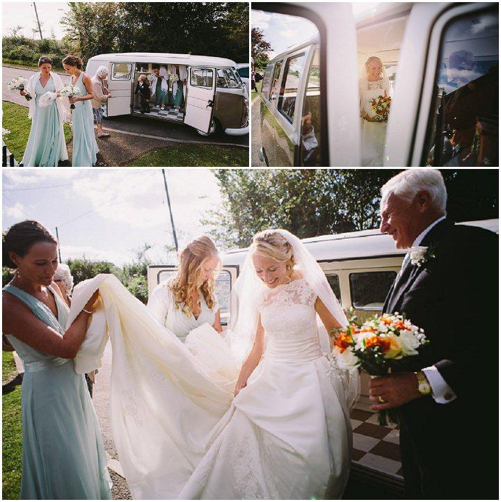 Wedding Flowers Warwickshire: Autumnal Back Garden Warwickshire Wedding By Kevin Belson
