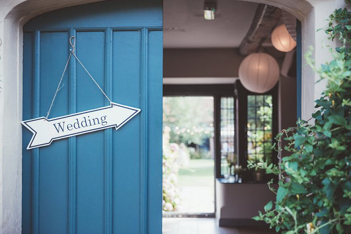 Wedding sign Doddington Hall Lincolnshire Wedding By Phillipa James Photography