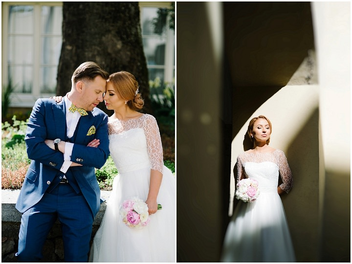 Modern Lithuanian bride in amazing light Wedding By Diana Zak Photography