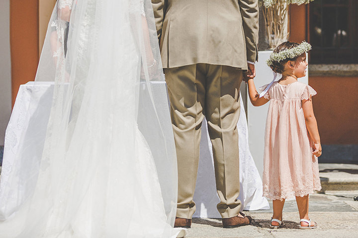Jennifer and Steven's Romantic and Rustic Italian children Wedding By Sam and Louise