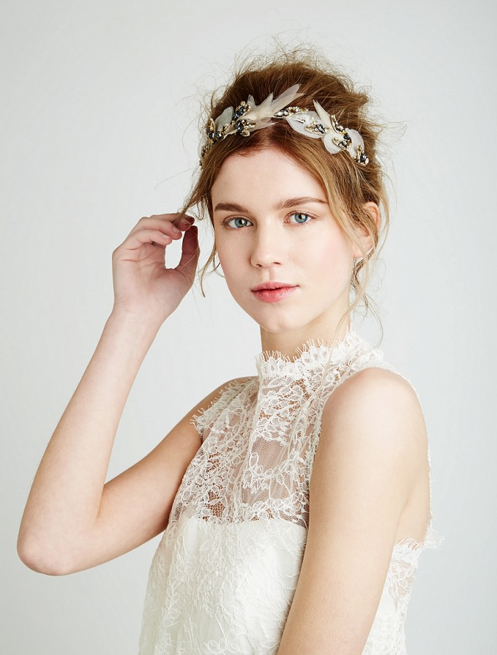 Feather and Coal - Beautiful and Unique Bridal Hair Accessories