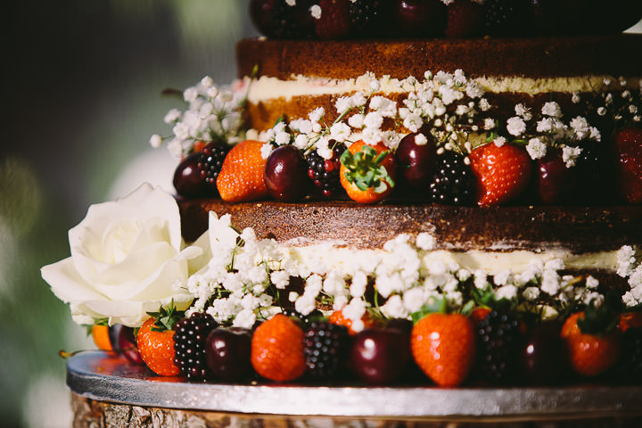 Warwickshire Naked Cake Wedding By Kevin Belson Photography