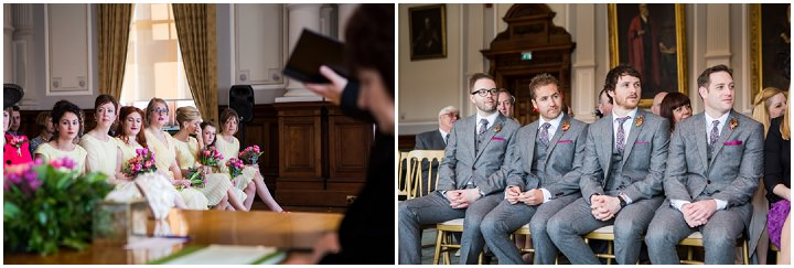 Bride and groom Vintage Inspired Great Yarmouth Town Hall Wedding By Tatum Reid Photography