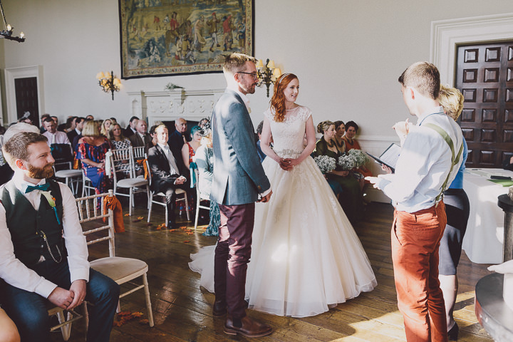 Autumnal Elmore Court getting married Gloucestershire Wedding By Scuffins Photography