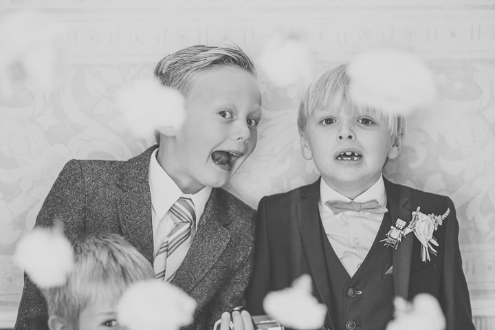 Alrewas Hayes Wedding pageboys in Staffordshire by Neil Jackson Photographic