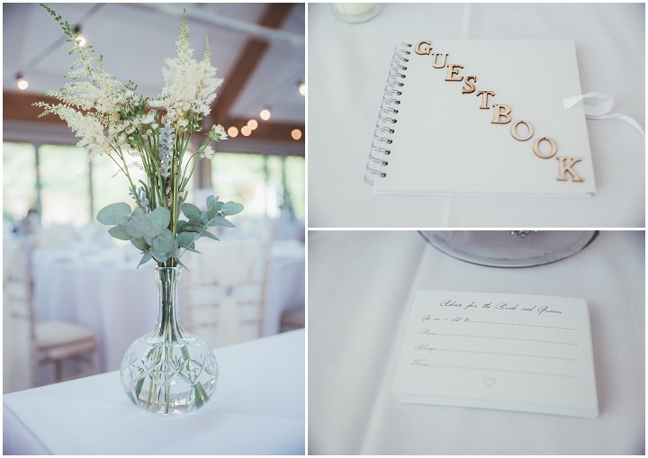 Guest Book at Doddington Hall Lincolnshire Wedding By Phillipa James Photography