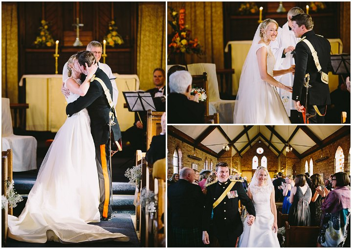 Warwickshire Wedding kiss By Kevin Belson Photography