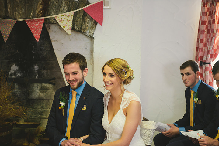 Handmade Wedding at The Thatched Cottage in Derry by Paula Gillespie